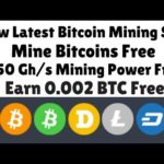 New Latest Bitcoin Mining Site | 150 Gh/s Mining Power Free | Earn 0.002 BTC Free | URDU HINDI