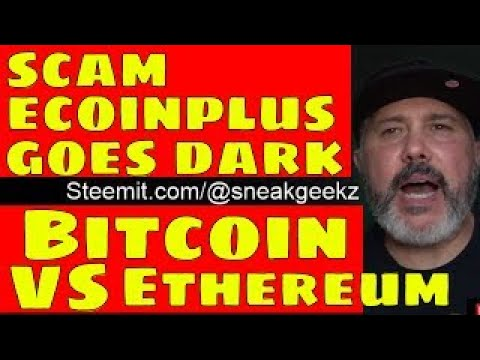 SCAM: Ecoinplus Goes Dark.FreeWallet.org Steals Users Funds.Bitcoin Better Money Than Ethe