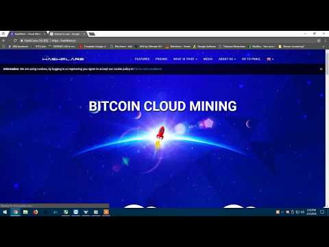 hashflare bitcoin cloud mining update 1TH!!!!! FEE Update?