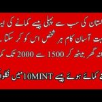 How To Make Money Online In Pakistan | Earn Daily Unlimited Money In Pakistan |