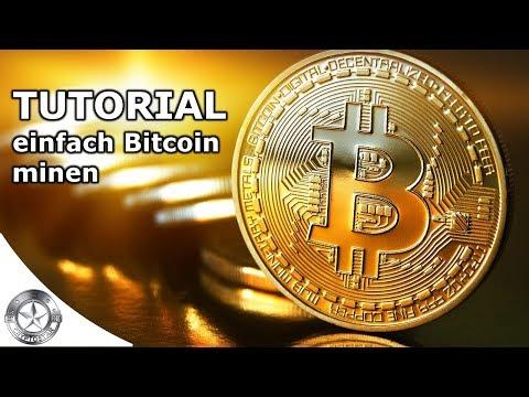 Tutorial: Bitcoin Mining von Zuhause aus ganz einfach Februar 2018