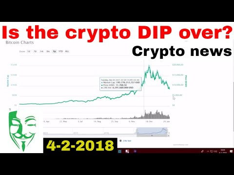 Is the Cryptocurrency DIP over? What is happening? Bitcoin and Altcoin news 4-2-2018