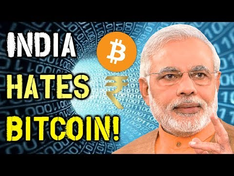India Loves Their Cashless Society, But Hates Bitcoin! - Here's Why