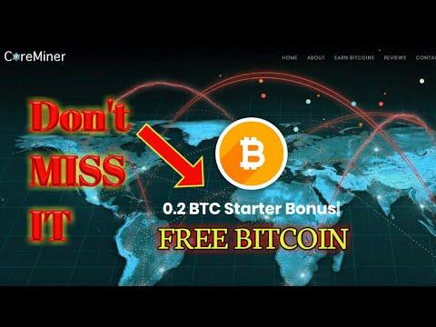 Free 0.2 BTC Starters Bonus || Bitcoin Cloud Mining || Earn bitcoin || new site 2018