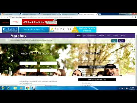 Earn online money ||Wacth Ads Earn Real Money 2Centads No minimum Payout