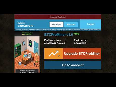 Free Bitcoin Mining? Can this be legit?