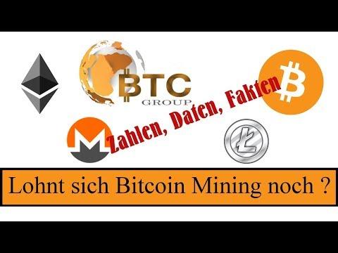 Lohnt sich Bitcoin Mining   Zahlen Daten Fakten