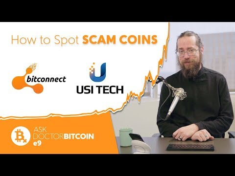 How to Spot SCAM COINS Like BITCONNECT and USI TECH - Ask Doctor Bitcoin e9