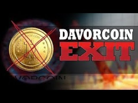 HAS DAVOR PULLED A BITCONNECT SCAM? LOOKS EXACTLY THE SAME