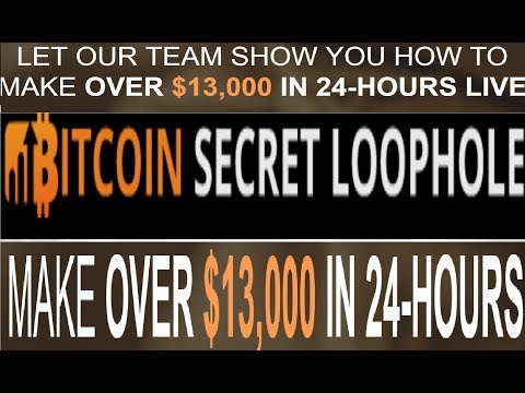 Bitcoin Secret Loophole Review - Bitcoin Loophole Scam Returns (2018 Update)