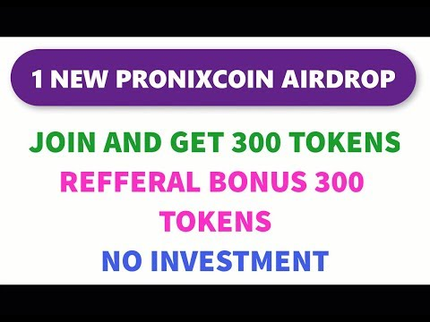 Pronixcoin Airdrop _ Earn Free Token - how to make money online - ico - airdrop - faucets