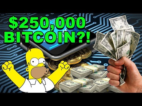 $250,000 Bitcoin - Will Bitcoin BTC Hit $250,000? - Winklevoss Twins CryptoCurrency News
