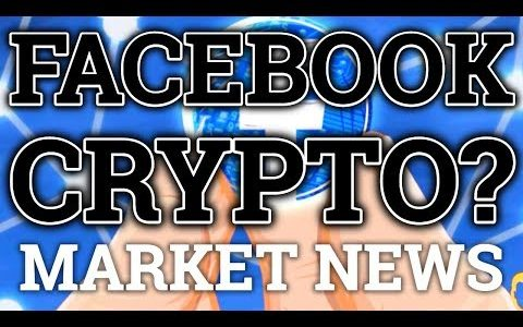 FACEBOOK CRYPTOCURRENCY? MARKET ABOUT TO MOON? BITCOIN BTC TRON TRX PRICE PREDICTION + NEWS UPDATE