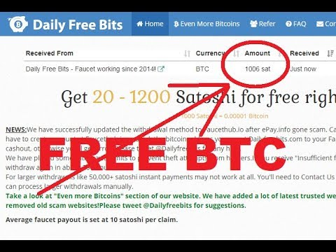 DailyFreeBits Review - SCAM or PAYING? EARN FREE BITCOIN!