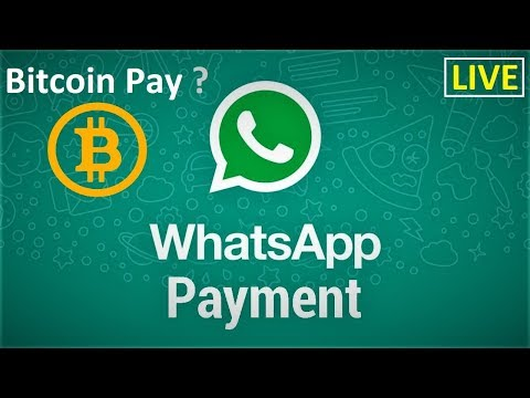 Whatapp Payment Feature Live | Bitcoin Pay in Whatsapp System