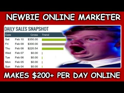 How I Make Money From Online Marketing