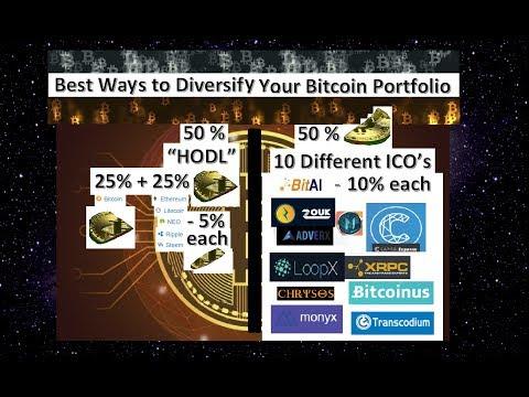 Best Ways to Diversify your Bitcoin BTC Portfolio