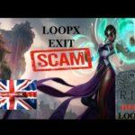 LOOPX EXIT SCAM !!!