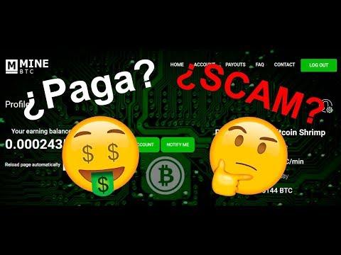 Mine BTC - Nueva web de mineria ¿Paga o es SCAM? [UtilparaTodos]