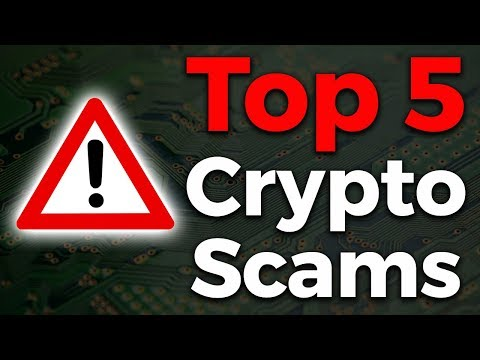 Top 5 Crypto Scams in 2018