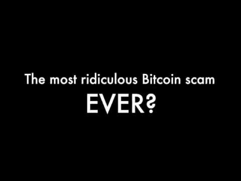 The most ridiculous Bitcoin scam ever?
