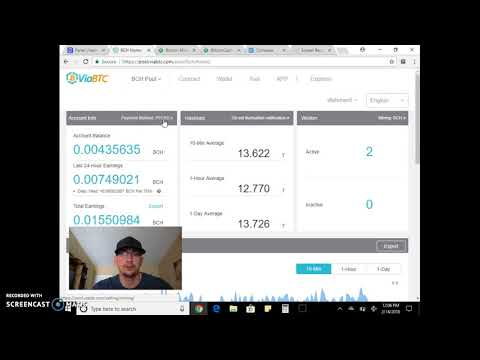 Bitcoin Mining 2018