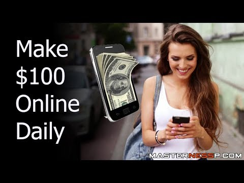 Make Money Testing Apps - Make Money Testing Websites - How to Make $50-$100 Per Day