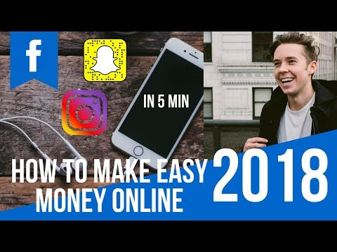 How To Make Easy Money Online In Under 5 Min In 2018