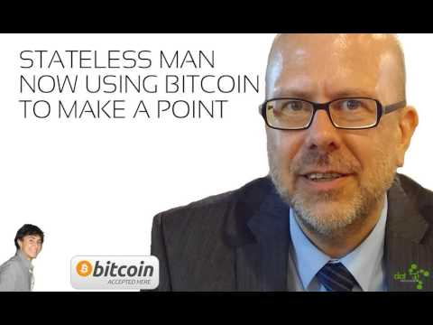 DatSyn News - Stateless man now using Bitcoin to make a point