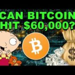 Can Bitcoin Hit $60,000? – How High Will BTC Go? – Should You Buy Bitcoin CryptoCurrency