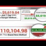 Make Money Online With THE BANGER METHOD! (Review + Bonuses)