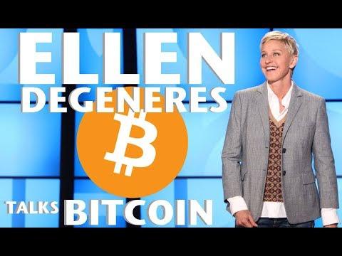 Ellen Degeneres Talks Bitcoin - Crypto Market Update - Coinbase Rumors