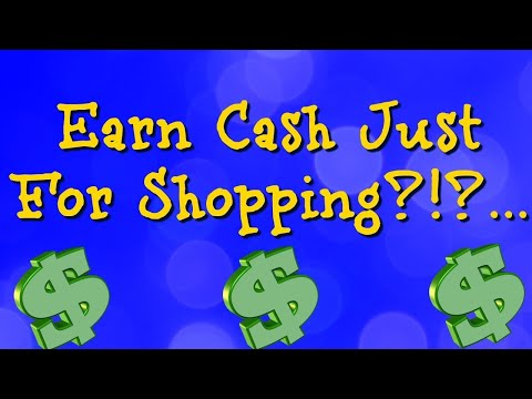 Get Paid To Shop Online - Make Money While Shopping Online(Ebates Review)