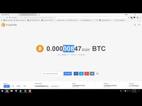 Free Miner Bitcoin with Chrome Browser Legit Never Scam FOREVER  More than 1 Bitcoin Month!