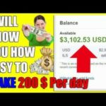 How to make money $100 par day online for teenagers