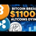 Cryptocurrency Bullish! – Bitcoin Breaks $11k –  Altcoin Suffering? – Crypto Market News