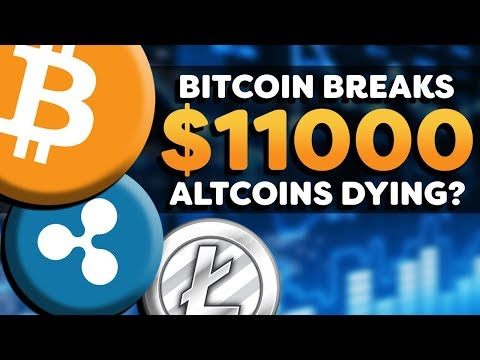 Cryptocurrency Bullish! - Bitcoin Breaks $11k -  Altcoin Suffering? - Crypto Market News