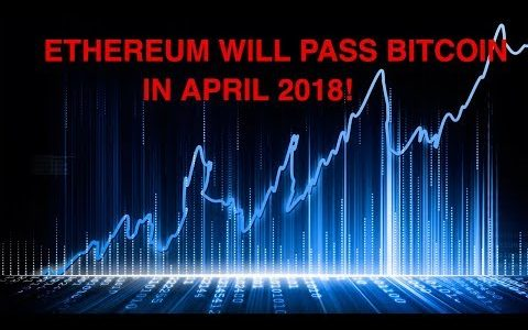 Ethereum Will Pass Bitcoin in April 2018 Ethereum Future Litecoin Btc Cryptocurrency News Monero