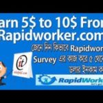 RapidWorkers Bangla Tutorial | Easy Way to Make Money Online for Beginners – Tech Bangla