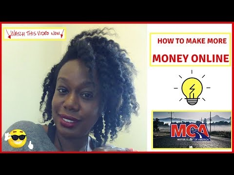 How to Make More Money Online with Motor Club of America