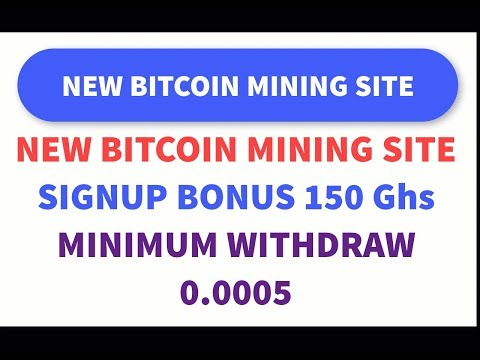 HOW TO EARN FREE BITCOIN / NEW BITCOIN MINING SITE 150 Ghs FREE / NEW AIRDROP / NEW ICO