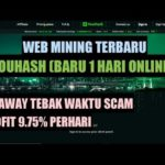 REVIEW YOUHASH.NET SCAM ATAU LEGIT? | BUKTI WITHDRAW YOBIT INVESTBOX