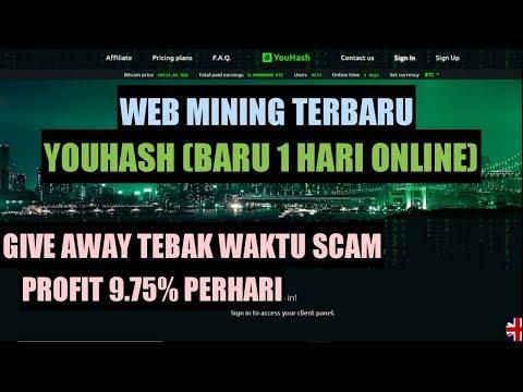 REVIEW YOUHASH.NET SCAM ATAU LEGIT? | BUKTI WITHDRAW YOBIT INVESTBOX