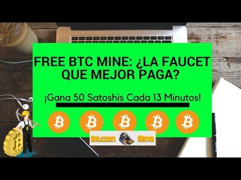 Como Ganar 50 Satoshis Cada 13 Minutos Con FREE Bitcoin Mining Game, La Mejor Faucet del 2018.