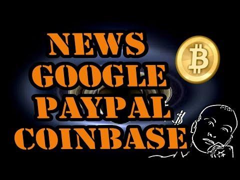 News Google Paypal Coinbase Bitfinex segwit - Kryptowährungen deutsch / Bitcoin