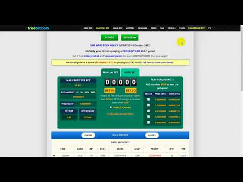 freebitco in Rool PLAYING SCAM   freebitco in 0 00114288 roll scam review