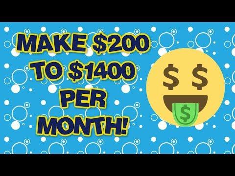 Make Money Online ($200 to $1400 Per Month)
