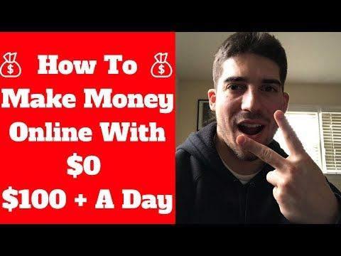 How To Make Money Online With $0 - 2 Easiest Ways To Earn Money Online! - 100+ A Day!