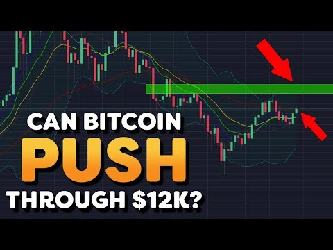 Can Bitcoin Push Through $12k? - Nano and DGD Crushing Bitcoin - Cryptocurrency Market News