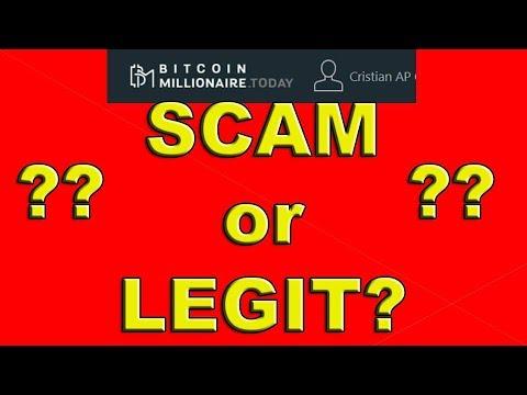 Bitcoin Millionaire - SCAM or LEGIT?